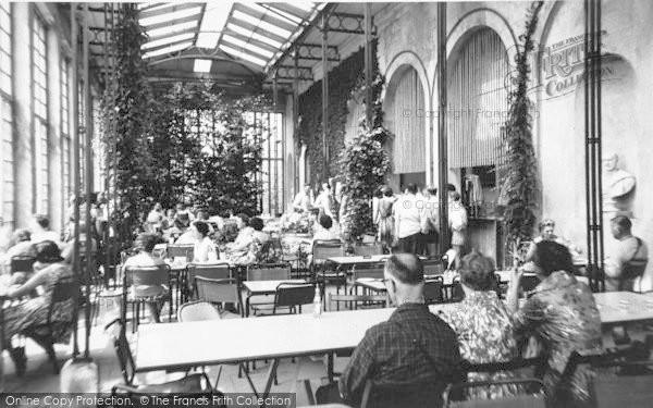 Photo of Belton, The Orangery Restaurant, Belton House c.1955