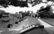 Belton, The Sunken Gardens, Belton House c.1955