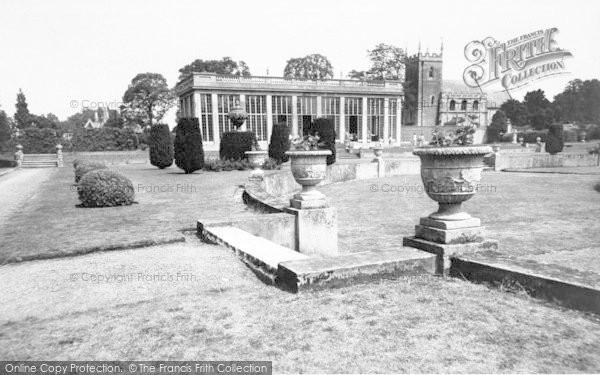 Photo of Belton, The Sunken Gardens, Belton House c.1955