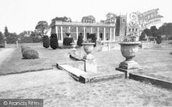 Belton, The Sunken Gardens, Belton House c.1955