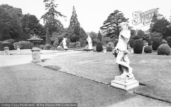 Photo of Belton, The Terrace, Belton House c.1955