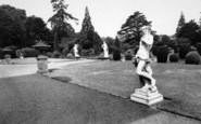 Belton, The Terrace, Belton House c.1955