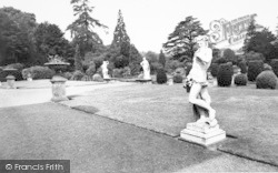 Belton, The Terrace, Belton House c.1955