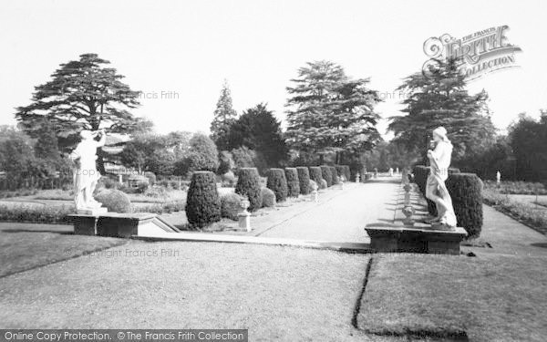 Photo of Belton, View From The Terrace, Belton House c.1955