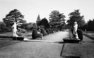 Belton, View From The Terrace, Belton House c.1955