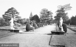 Belton, View From The Terrace, Belton House c.1955