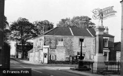 War Memorial And Post Office c.1960, Belton