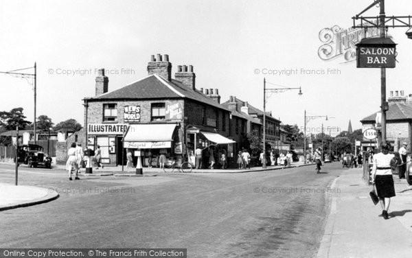 Belvedere, Albert Road Corner c.1950