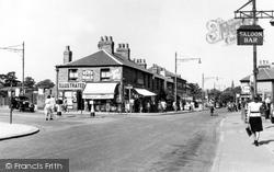 Albert Road Corner c.1950, Belvedere