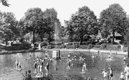 Belvedere, Fountain and Childrens Pond c1950