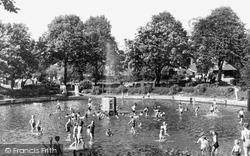 Fountain And Children's Pond c.1950, Belvedere