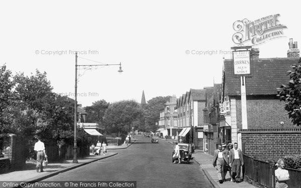 Belvedere, Nuxley Road c.1950