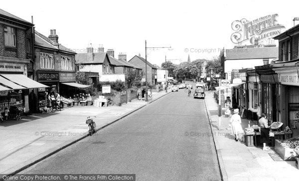Belvedere, Nuxley Road c1955