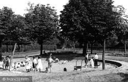 The Children's Sand Playground c.1955, Belvedere
