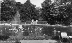 The Lake c.1950, Belvedere