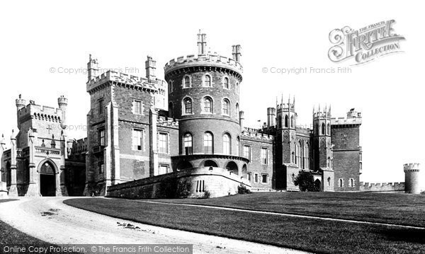 Belvoir Castle, From The North West 1890
