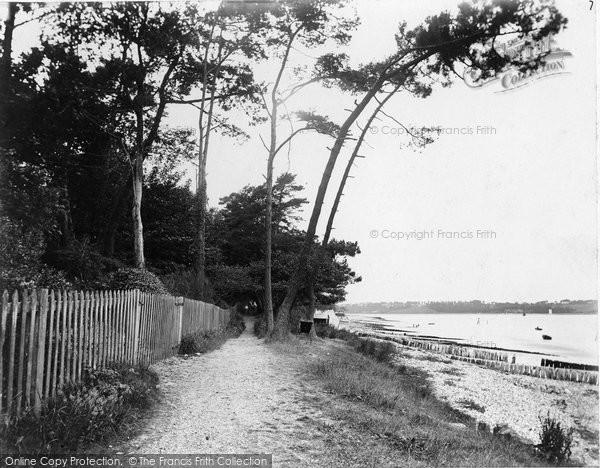 Bembridge, By The Shore c.1900