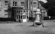 Bembridge, Drinking Fountain c.1960