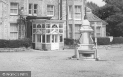 Bembridge, Drinking Fountain c.1960