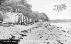 Bembridge, Ducie Beach c.1955