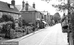 Bembridge, High Street c.1960