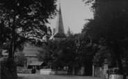 Bembridge, Holy Trinity Church c.1955