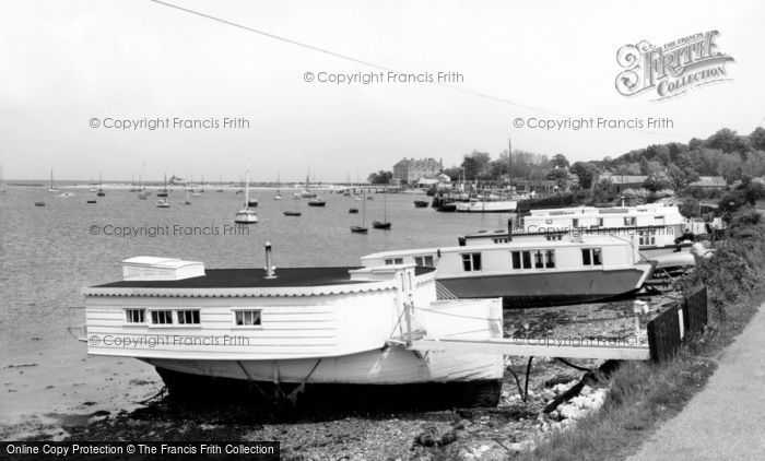 Bembridge, The Harbour c.1955