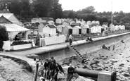 Bembridge, The Huts c.1955