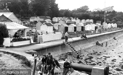 Bembridge, The Huts c.1955