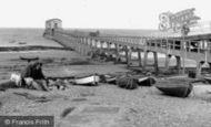Bembridge, The Lifeboat Pier c.1955