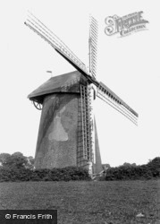 Bembridge, The Old Windmill c.1955