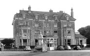 Bembridge, the Royal Spithead Hotel c1955