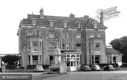 Bembridge, The Royal Spithead Hotel c.1955