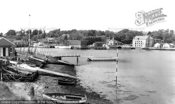 Bembridge, The Yacht Club c.1955