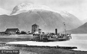 Ben Nevis, from Corpach c1890