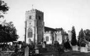 Benenden, St George's Church c.1960