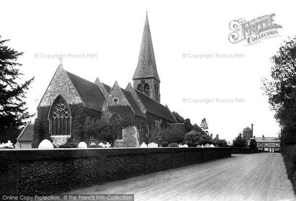 Photo of Bengeo, Holy Trinity Church 1922