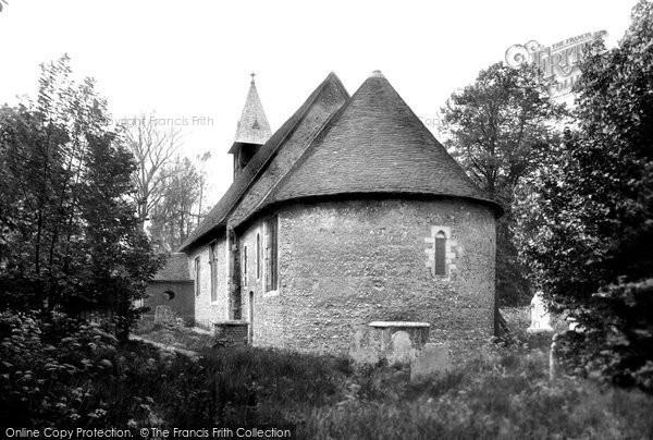 Photo of Bengeo, St Leonard's Church 1922