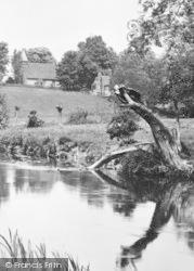 St Leonard's Church From The River 1929, Bengeo