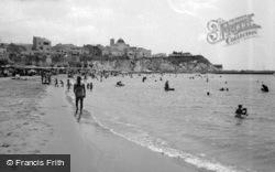Beach And Town c.1960, Benidorm