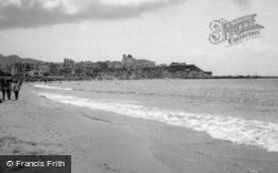 Benidorm, From The Beach c.1960