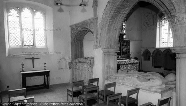 Benington, Church Interior c.1960