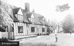 Benington, Pound Cottage c.1960