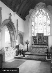 Benington, The Church Interior c.1960