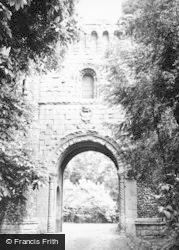 Benington, The Sham Ruins 1951