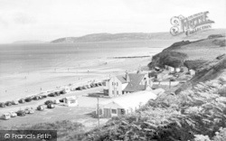 Benllech Bay, And Lido Cafe c.1955