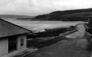 Benllech Bay, Beach Road c.1950