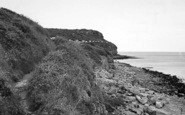 Benllech Bay, Cliff Walk c.1955