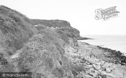 Benllech Bay, Cliff Walk c.1955