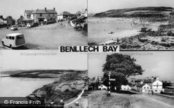 Benllech Bay, Composite c.1960, Benllech